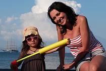 Adéla Kotková s dcerou.