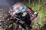 Smrtí dvou lidí skončila v pondělí 23. listopadu dopravní nehoda osobního automobilu nedaleko Strání. Vůz, v němž cestovaly celkem tři osoby, havaroval v mlze krátce před 18. hodinou na silnici l/54 v blízkosti odbočky na Korytnou.