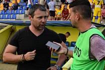 Slovenský trenér Erik Sameš na vlastní žádost skončil u fotbalistů divizního Strání