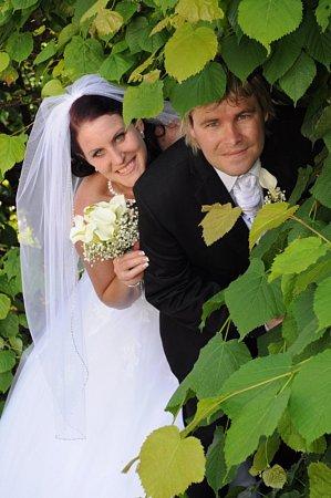 Soutěžní svatební pár 109 - Veronika a Josef Zbořilovi, Hulín.