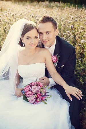 Soutěžní svatební pár číslo 125 - Aneta a Ivan Michalcovi, Slušovice.