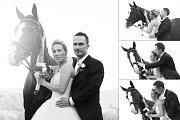Soutěžní svatební pár číslo 2 - Eva a Mira Turkovi, Hanušovice