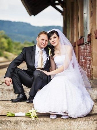 Soutěžní svatební pár číslo 60 - Eva a Marek Žákovi, Valašské Klobouky.