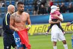 1. FC Slovácko - FC Slovan Liberec 0:1. Milan Baroš