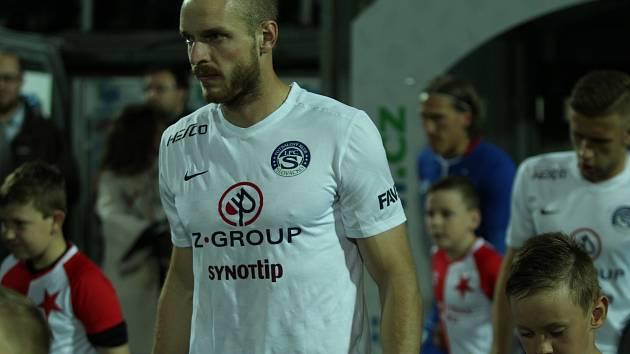 Vlastimil Daníček po utkání 1. FC Slovácko - Slavia Praha.