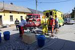 Záchranné složky zasahovaly na Uherskohradišťsku u případu vysoce nakažlivé nemoci