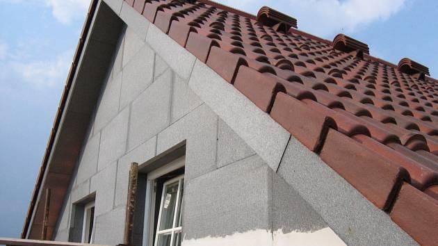 Zateplení fasády pomocí EPS GreyWall