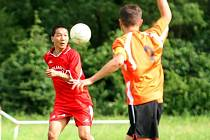 Erdenebileg Bayarkhuu má výbornou bilanci, ve dvou zápasech vstřelil dva góly.