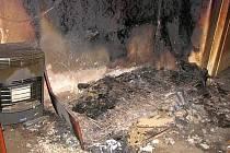 Malé a skryté domácí požáry přináší nejvíc tragédií a zranění - požár vznikl v posteli.