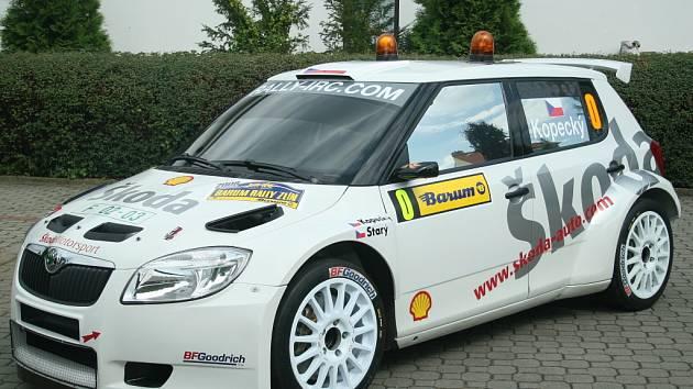 Škoda Fabia S2000.