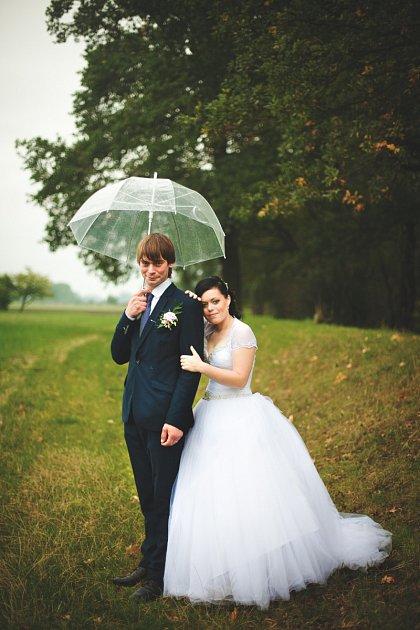 Soutěžní svatební pár číslo 154 - Kateřina a Roman Snídalovi, Němčice nad Hanou
