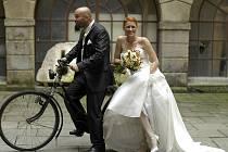 Soutěžní svatební pár číslo 171 - Veronika a Tomáš Kaštylovi, Kroměříž.