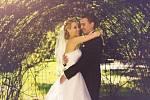 Soutěžní svatební pár číslo 180 - Lucie a Tomáš Glatzovi, Dětmarovice.