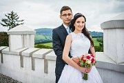 Soutěžní svatební pár číslo 28 - Kristýna a Jiří Hrachovcovi, Zlín
