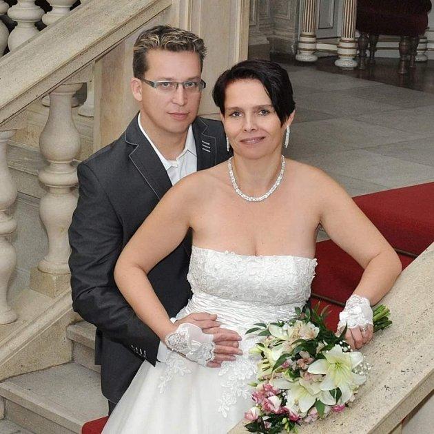 Soutěžní svatební pár číslo 57 - Jana a Lukáš Badurovi, Chropyně