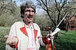 Slovácké Velikonoce na televizní obrazovce. Primáš Burčáků Fanoš Holmes Ilík (2009).