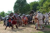 Veligrad - boj o hradiště.