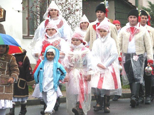 Obnovení tradice hodového veselí v Břestku