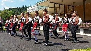 Soubory z Kunovského léta vystupovaly v Luhačovicích