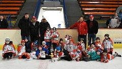 Nejmenší hokejisté HC Uherské Hradiště si domácí turnaj užili.