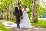 Soutěžní svatební pár číslo 223 - Tereza a Pavel Tvrdoňovi, Kunovice.