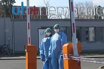 Nemocnice v Uherském Hradišti. Ilustrační foto
