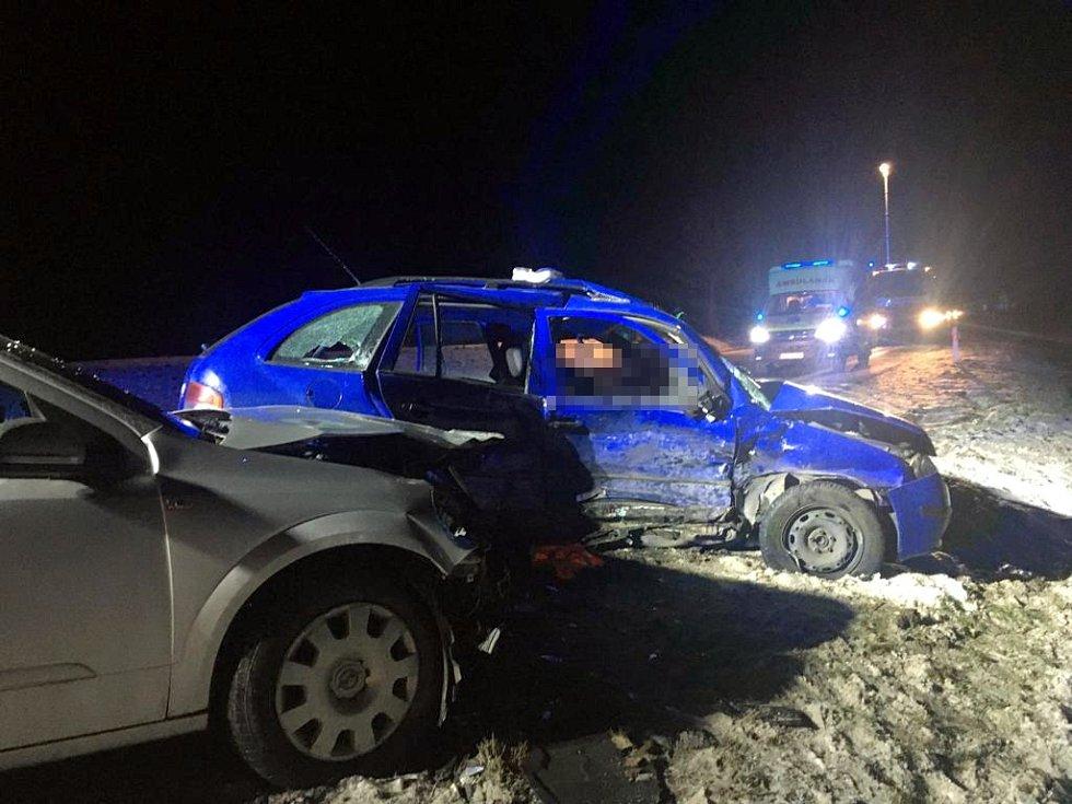 Tragická nehoda zastavila dopravu na silnici I/50 u Zlechova.