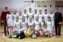 Fotbalistky Uherského Brodu obsadily na prestižním mezinárodním halovém turnaji Vítkovice Womens Cup 2016 sedmé místo.