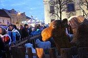 Kateřinský jarmark proměnil střed Uherského Brodu na tržiště na dva dny.