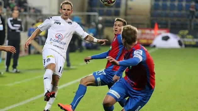 1. FC Slovácko - Plzeň. Ilustrační foto.