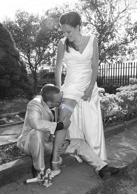 Svatební pár č. 105Jana a Přema Zamazalovi, Malhotice