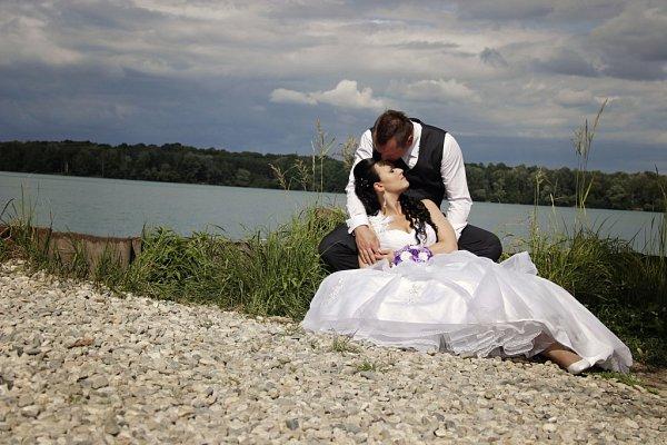 Soutěžní svatební pár číslo 143 - Tomáš a Eva Dočkalovi, Troubky nad Bečvou