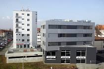Vědeckotechnický park a podnikatelský inkubátor Triangl v Uherském Hradišti.