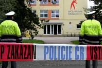 Sportovní škola v Uh. Hradišti byla evakuována kvůli nahlášené bombě. Ilustrační foto.