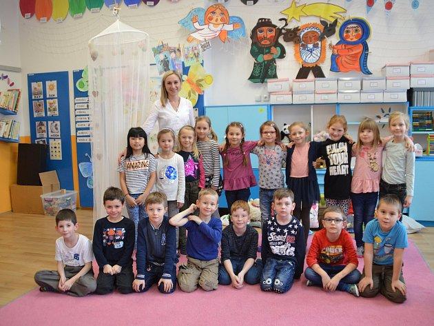 Základní škola Polešovice, 1.B paní učitelky Veroniky Bělaškové