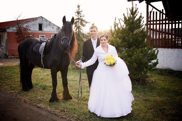 Soutěžní svatební pár číslo 39 - Petra a Michal Barnetovi, Otrokovice
