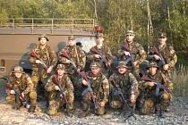 Členové aktivních záloh ze Zlínského kraje letos v září absolvovali vojenské cvičení na Libavé.