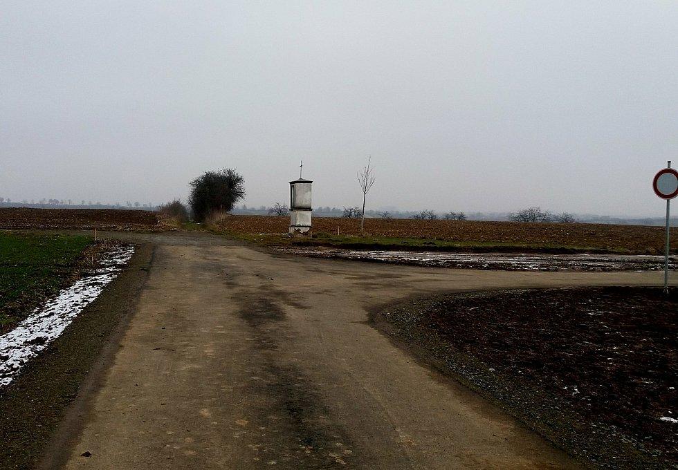 Nově vybudovaná Cyklostezka sv. Metoděje ze Zlechova do Boršic