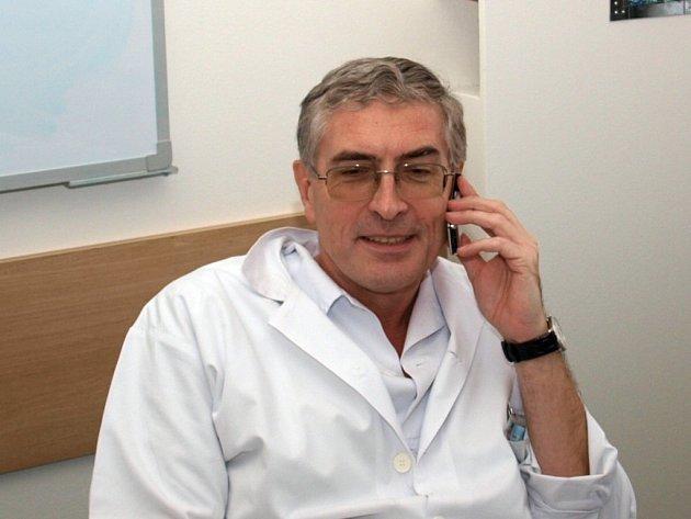 Antonín Karásek, ředitel Uherskohradišťské nemocnice.