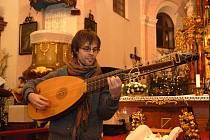 Ondřej Jalůvka našel zalíbení ve staré hudbě.