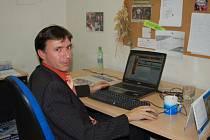 Starosta Uherského Brodu Patrik Kunčar odpovídal v redakci čtenářům webu Slováckého deníku