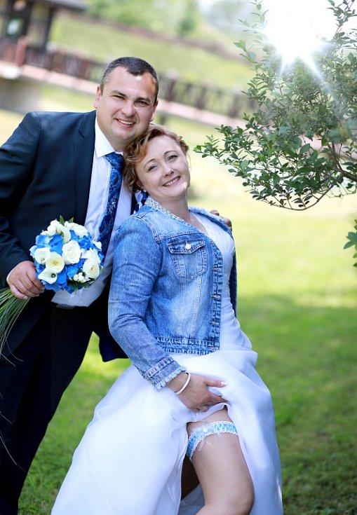 Soutěžní svatební pár číslo 4 - Romana a Miloslav Stuchlíkovi, Topolná