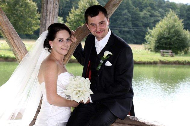 Soutěžní svatební pár číslo 209 - Jana a Petr Psíkovi, Uherské Hradiště.