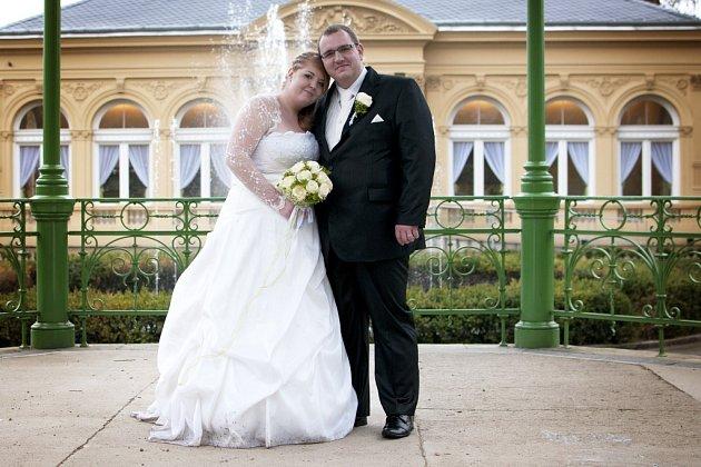 Soutěžní svatební pár číslo 71 - Veronika a Jiří Kubešovi, Olomouc.