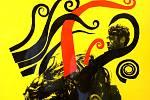 Festival Letní filmová škola Uherské Hradiště 2019 Výstava Francouzská nová vlna v československém a polském filmovém plakátu   Foyer kina Hvězda