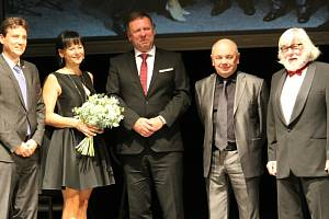 Předávání Cen města Uherské Hradiště ve Slováckém divadle, 15. října 2021