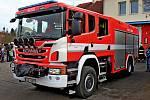 Stříkačka za sedm a půl milionu korun poslouží hasičům z Vlčnova.