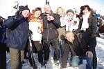 22. ročník silvestrovského setkání na vrcholu Velké Javořiny 31. prosince 2014