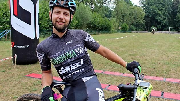 Na snímku je letošní vítěz Drtikolu, morkovický Pavel Žák, loni třetí, předloni druhý a vprvním ročníku na vítěz.
