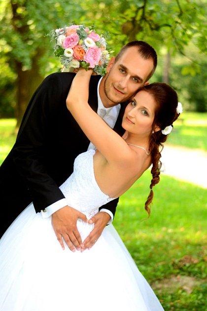 Soutěžní svatební pár číslo 212 - Dominika a Lukáš Zaworovi, Olomouc